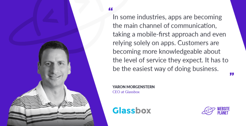 Glassbox CEO Yaron Morgenstern