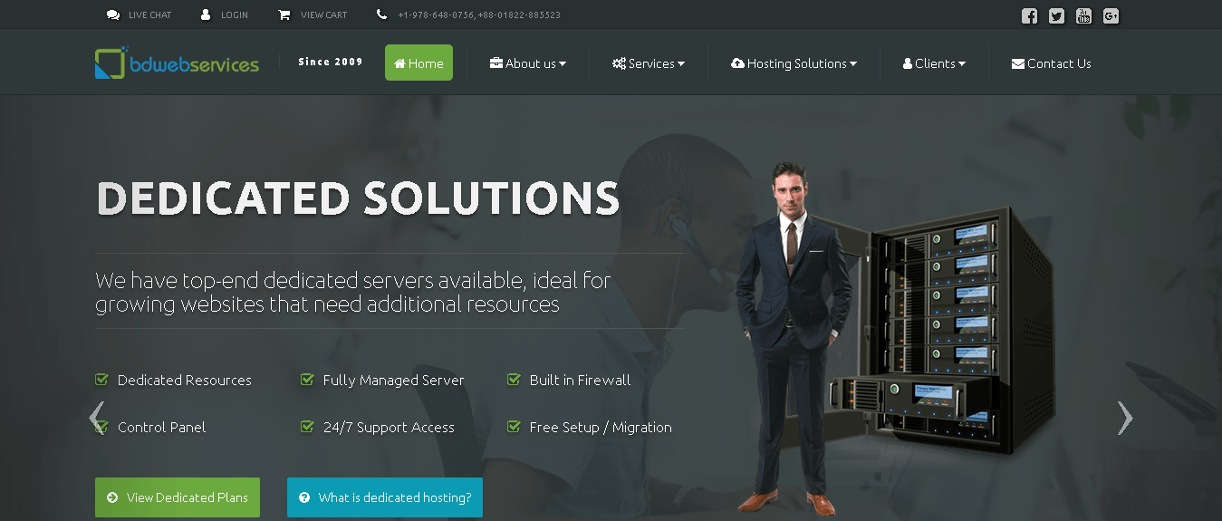BD Web Services