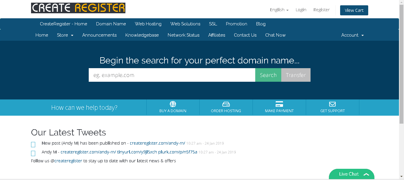 createregister main