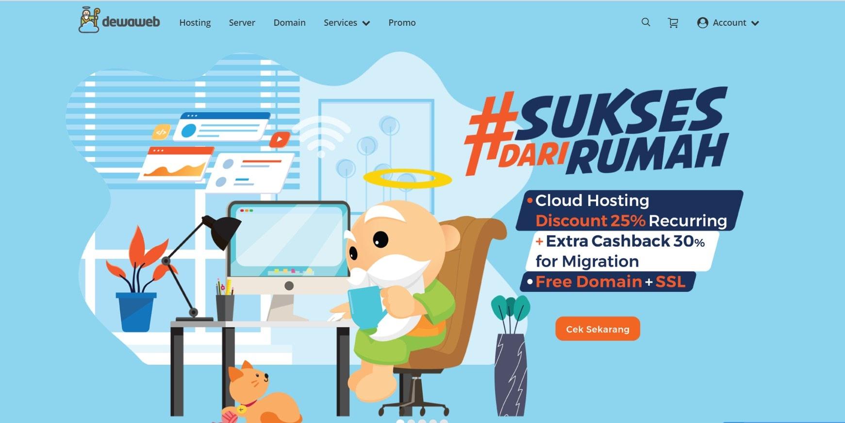 Dewaweb hosting