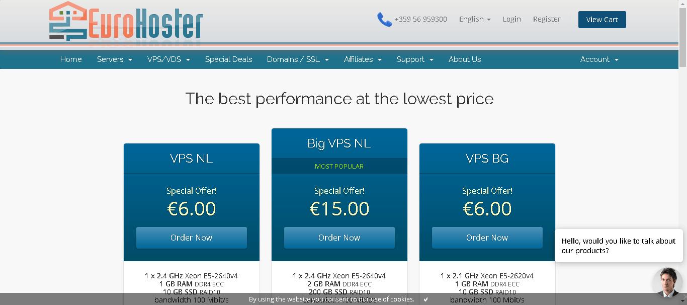 eurohoster main