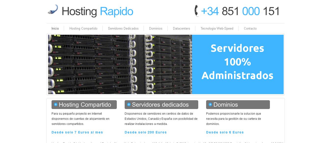 Hosting Rapido