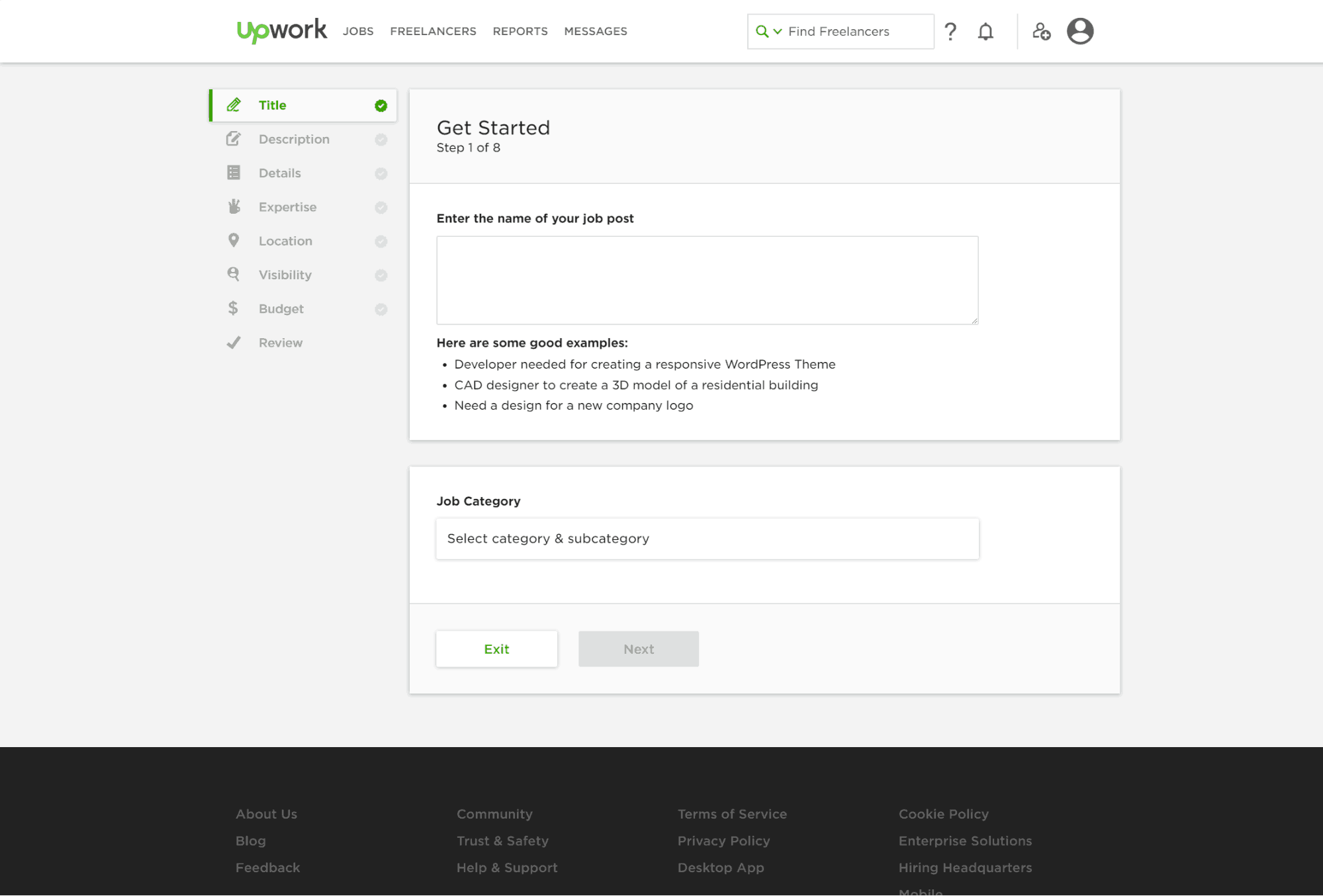 Create a Job Post on Upwork (9 Steps to Qualified Proposals in 2020)