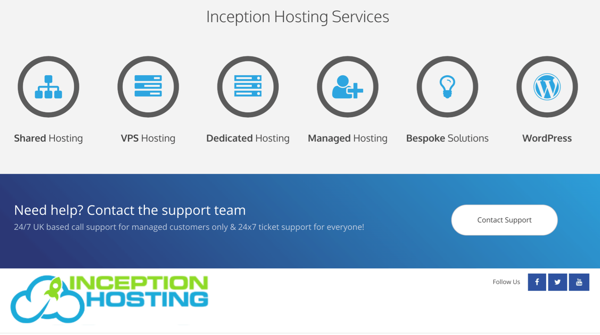 Inception Hosting