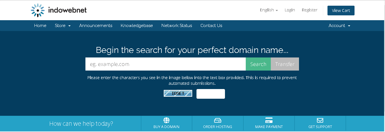 indowebnet main