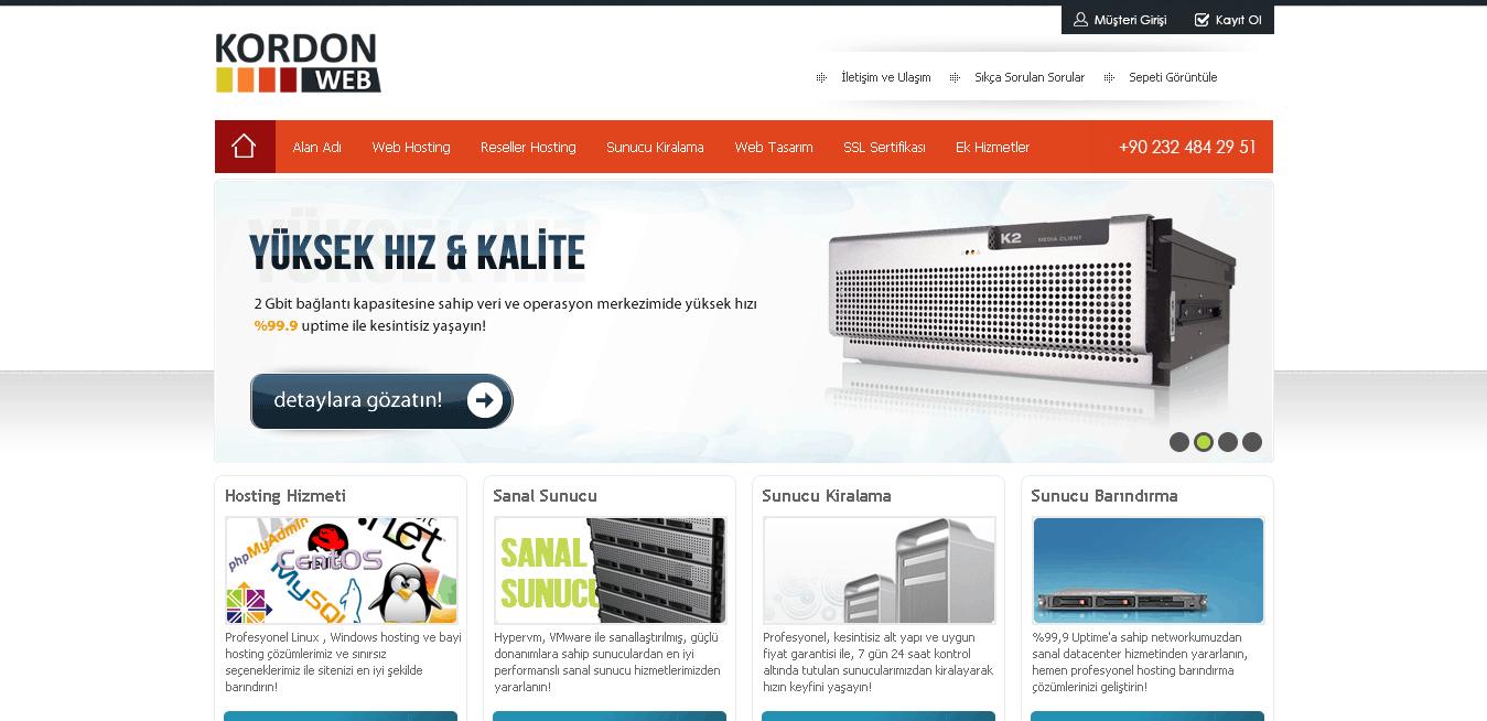 kordonweb main