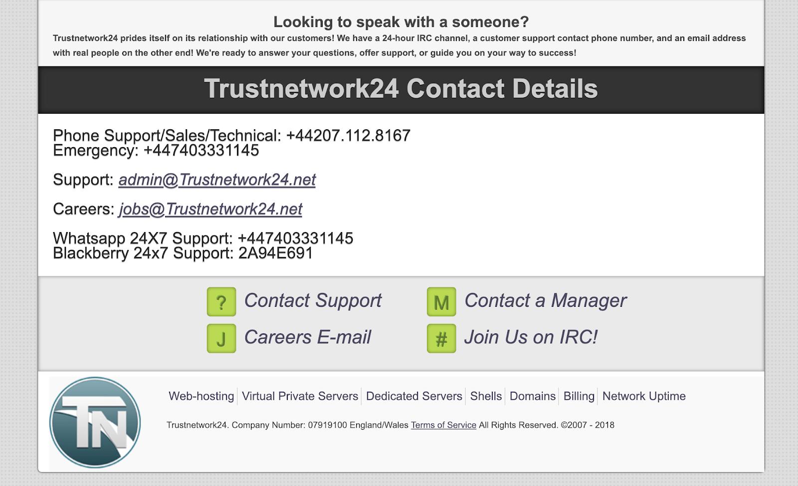 trustnetwork 2
