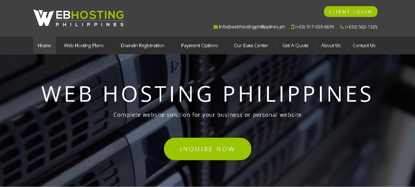 webhostingphilipines main