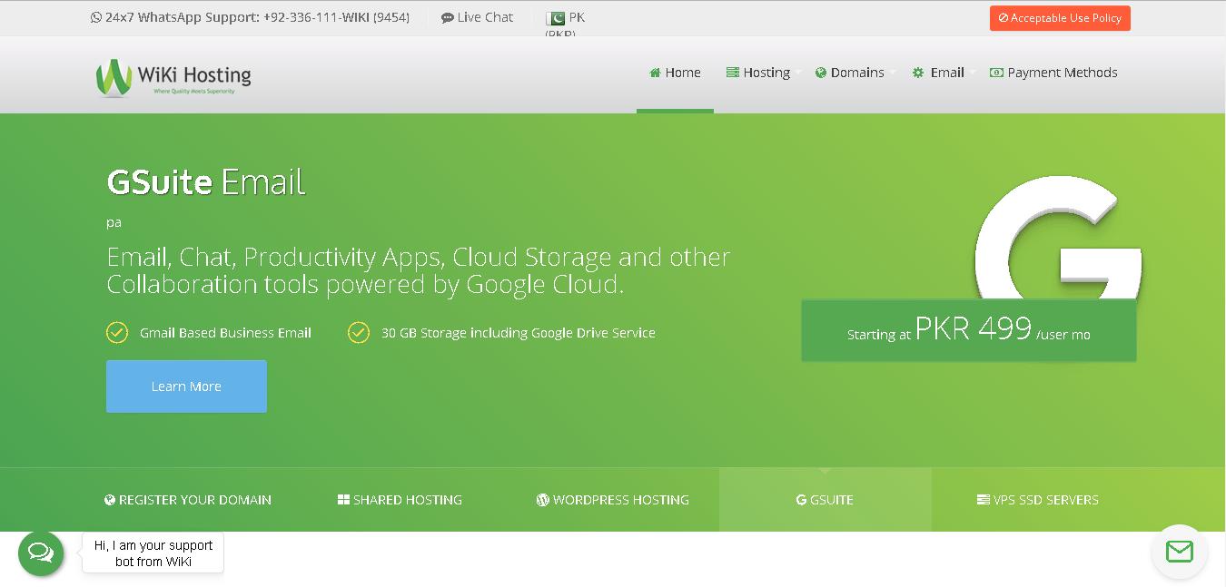 wikihosting main