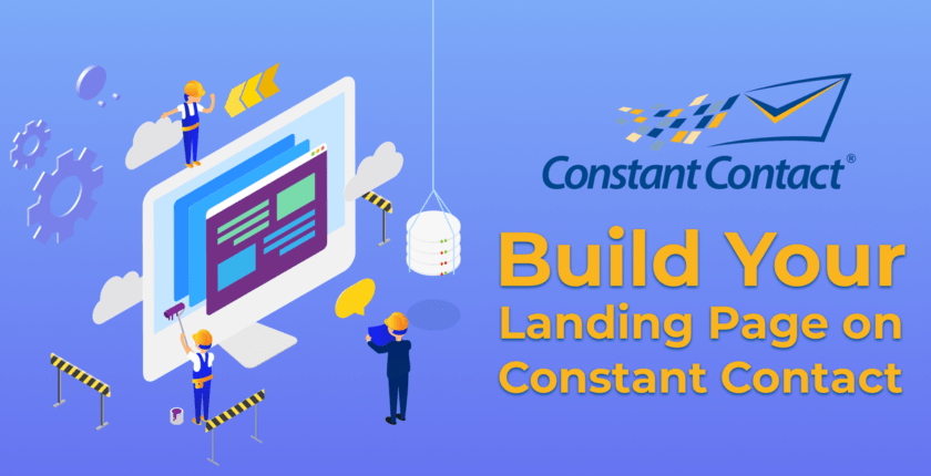 Can You Create a Landing Page in Constant Contact?