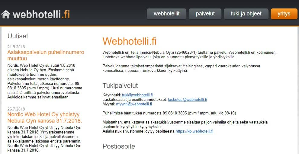 Webhotelli.fi-overview2