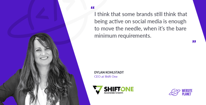 Dylan Kohlstadt, CEO at shift one