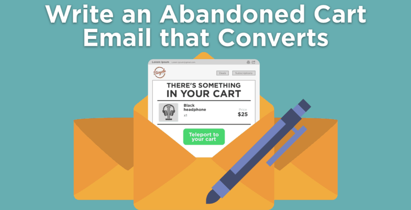 How to Write the Best Abandoned Cart Emails