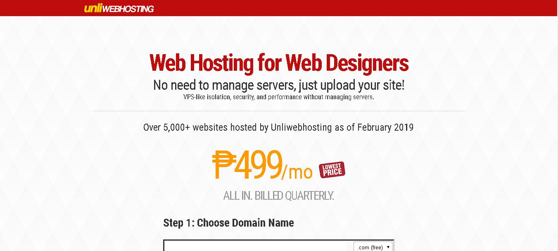 Unliwebhosting
