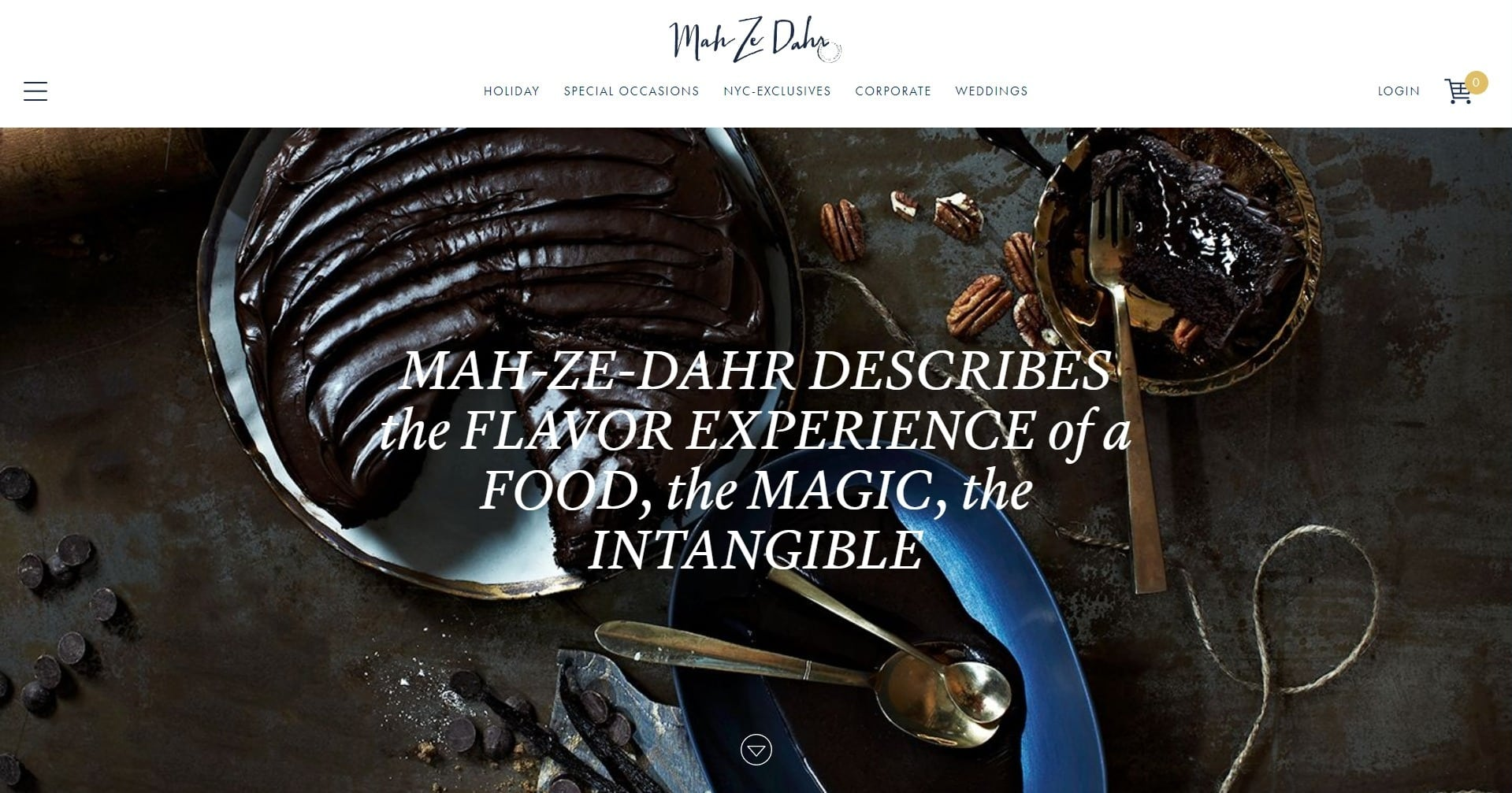 Mah ze Dahr Bakery Website