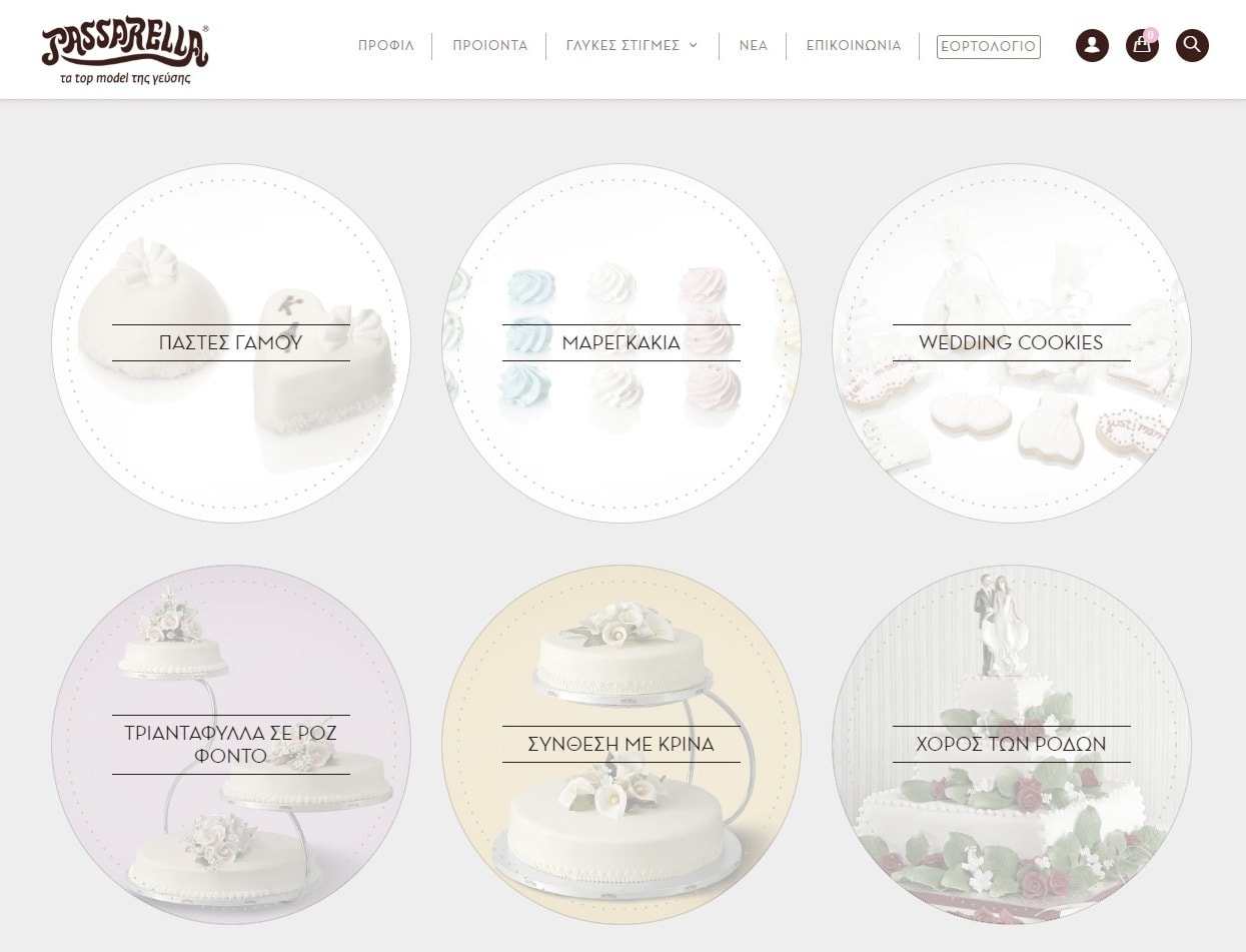 Passarella Bakery Website