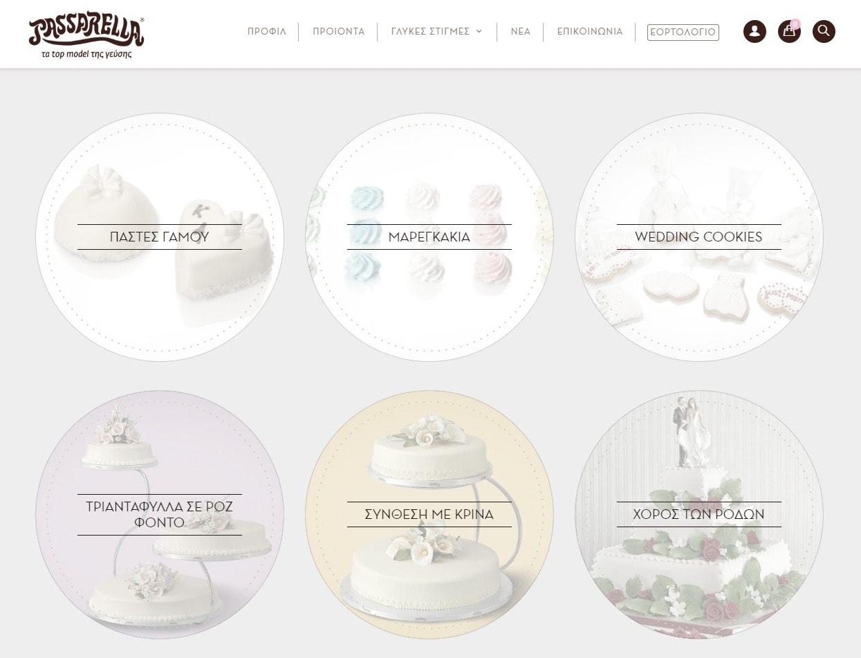 Passarella Bakery Website