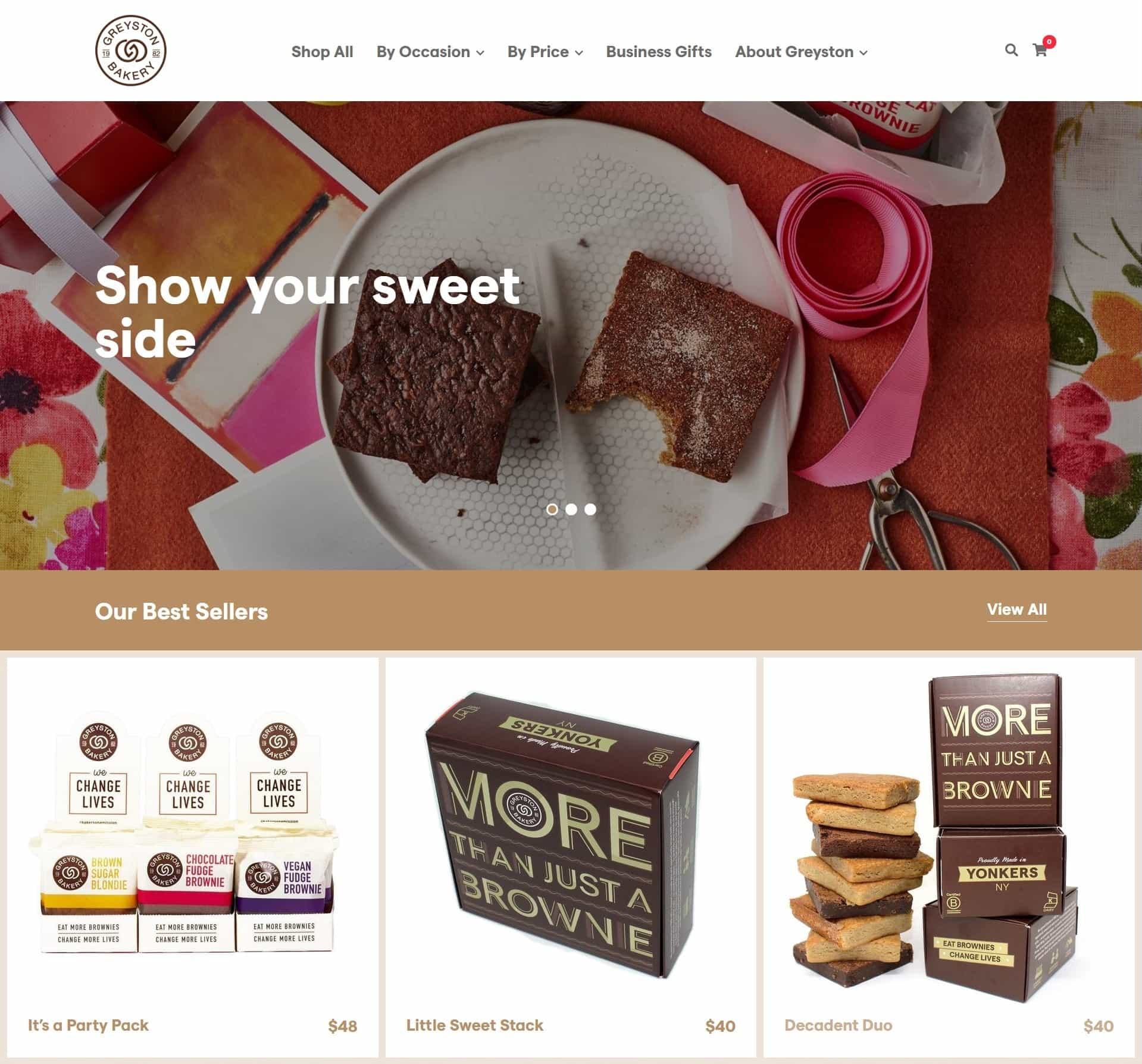 Greyston Bakery Website