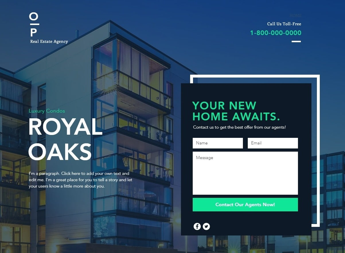 6 Best Wix Real Estate Templates (+2 Worst)-image1