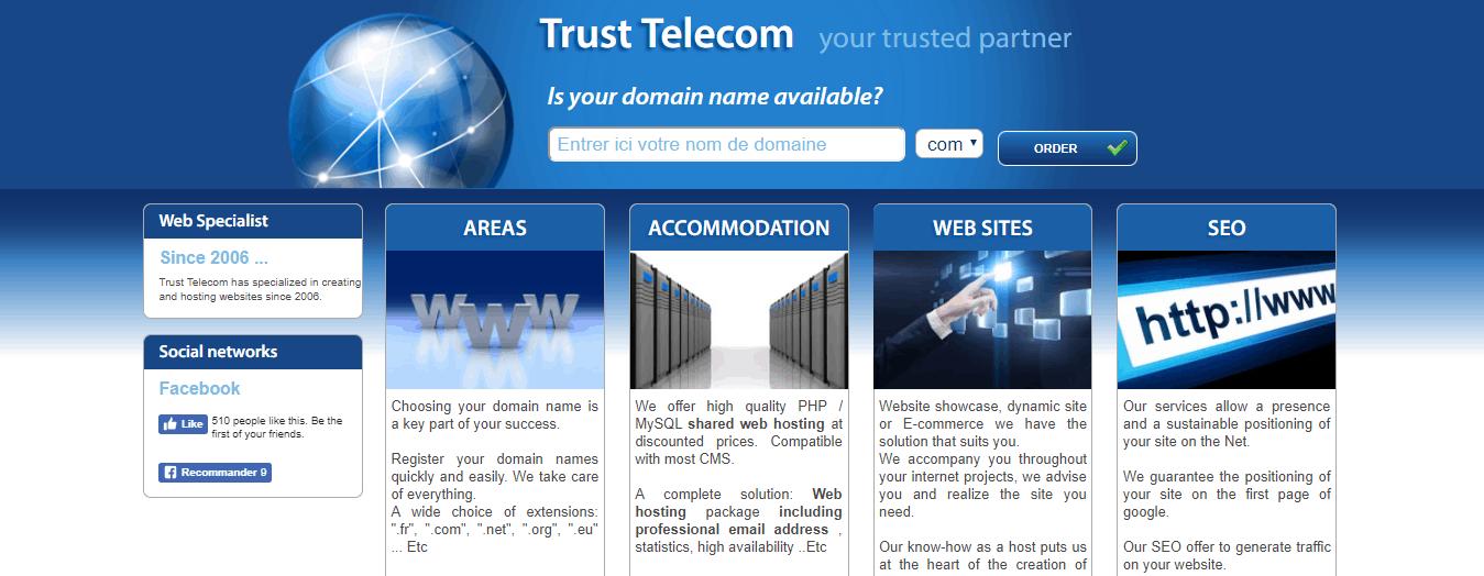 TrustTelecom features