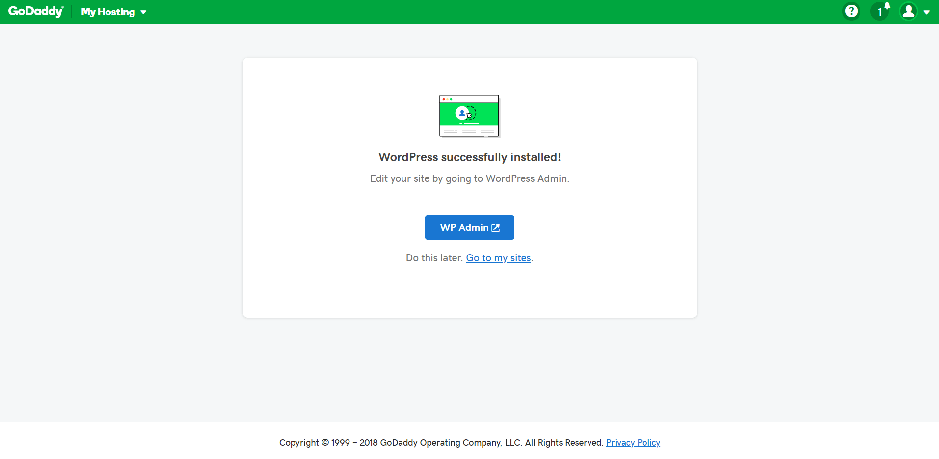 How to Connect a Domain and Install WordPress on GoDaddy-image4