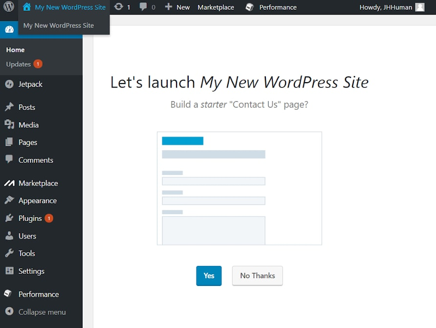 How to Connect a Domain and Install WordPress on iPage-image4