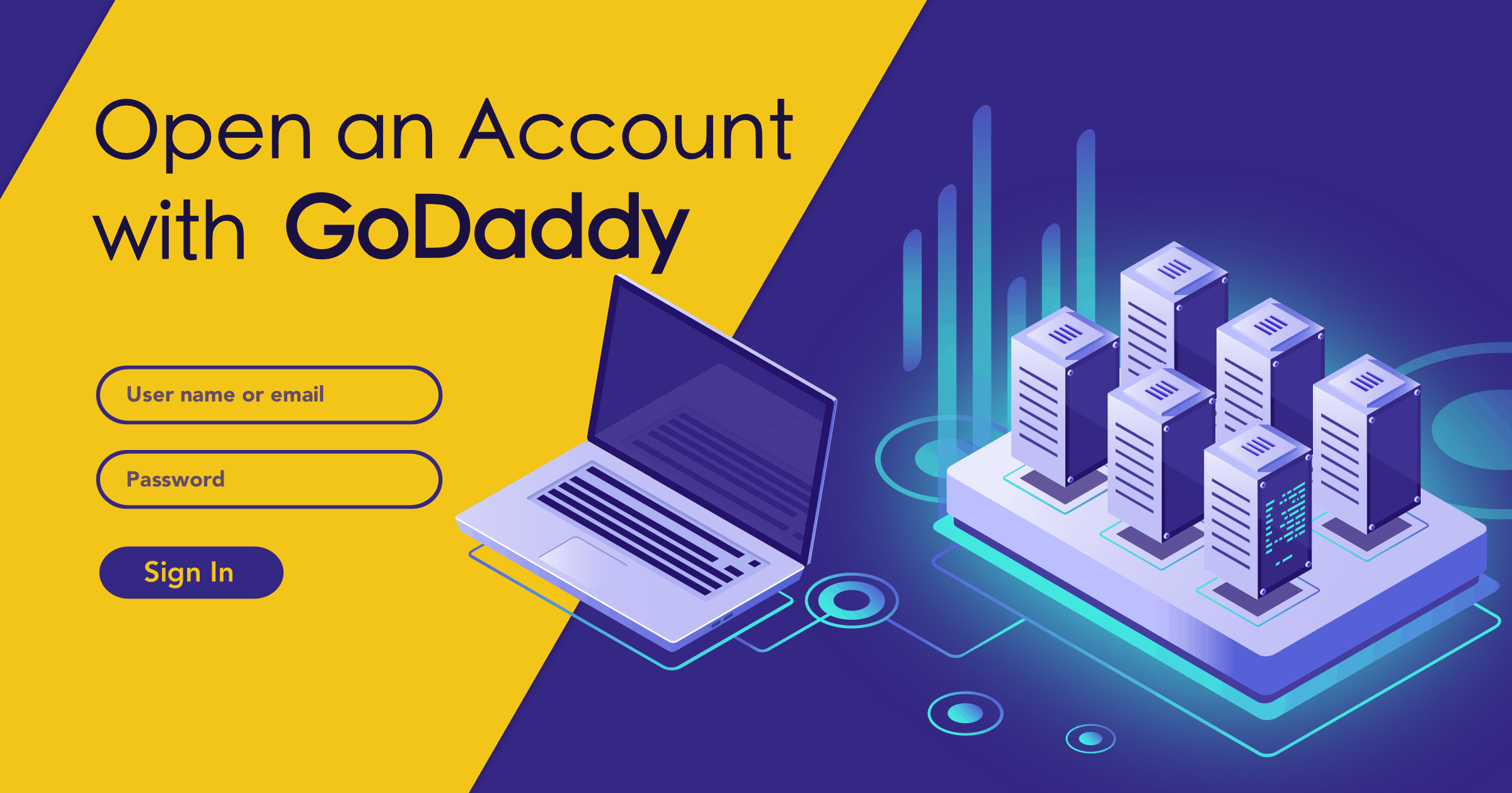 How to Create a New Account with GoDaddy