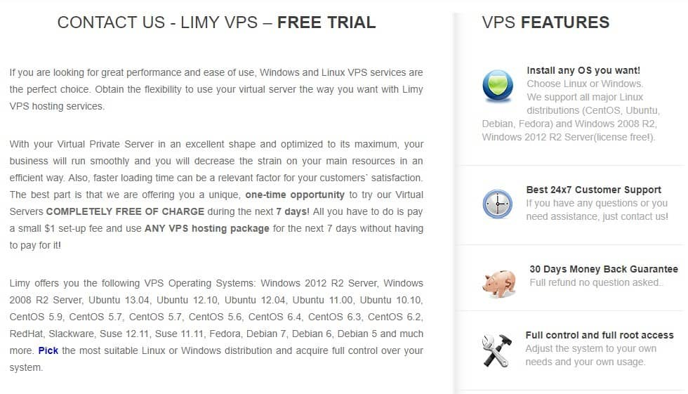 Limy VPS