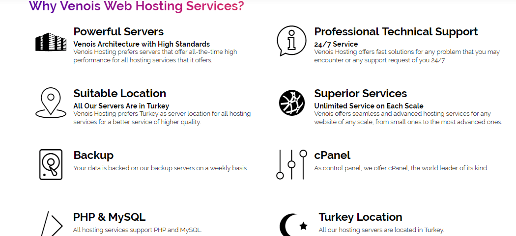 Venois-Hosting-overview1