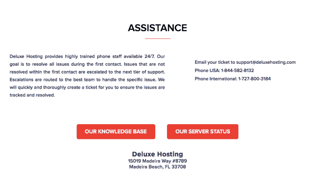 Deluxe Hosting