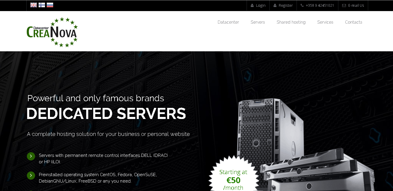 Creanova Hosting Solutions Ltd