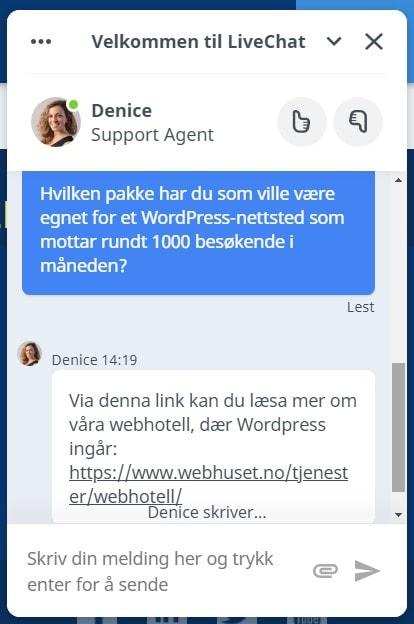 Webhuset - pricing