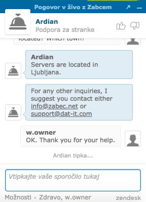 Zabec.net support