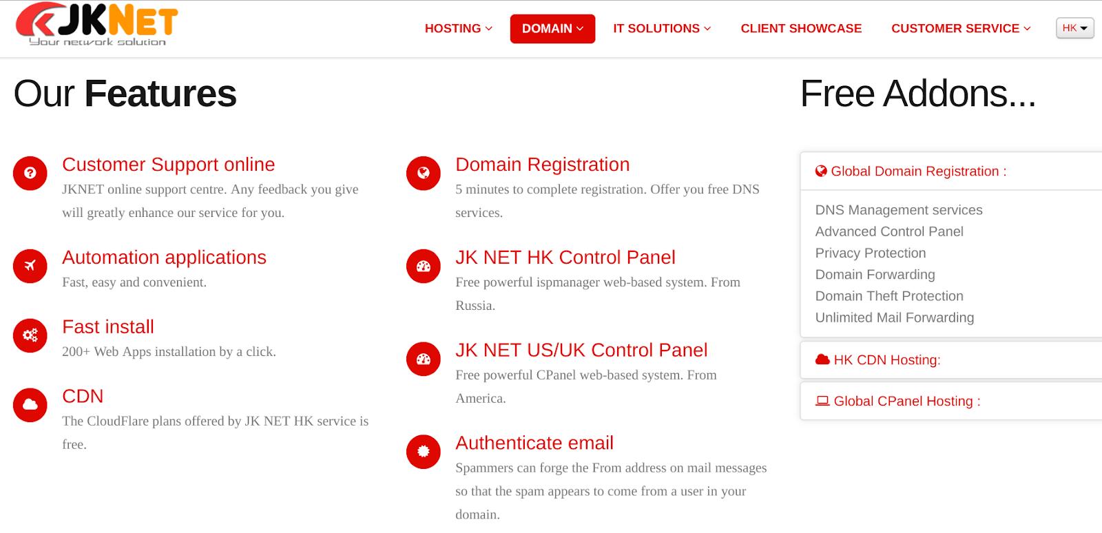jknet 1