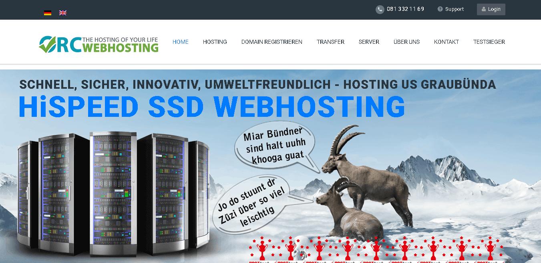orcwebhosting main