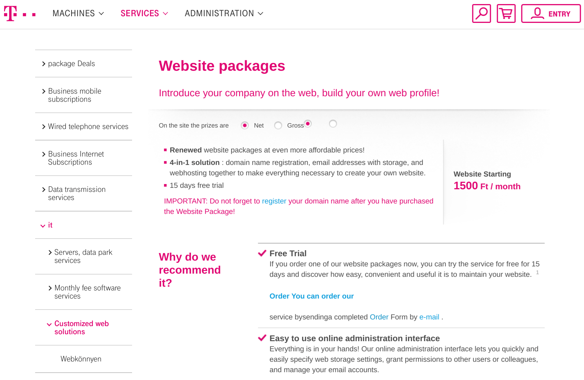 telekom.hu-mine