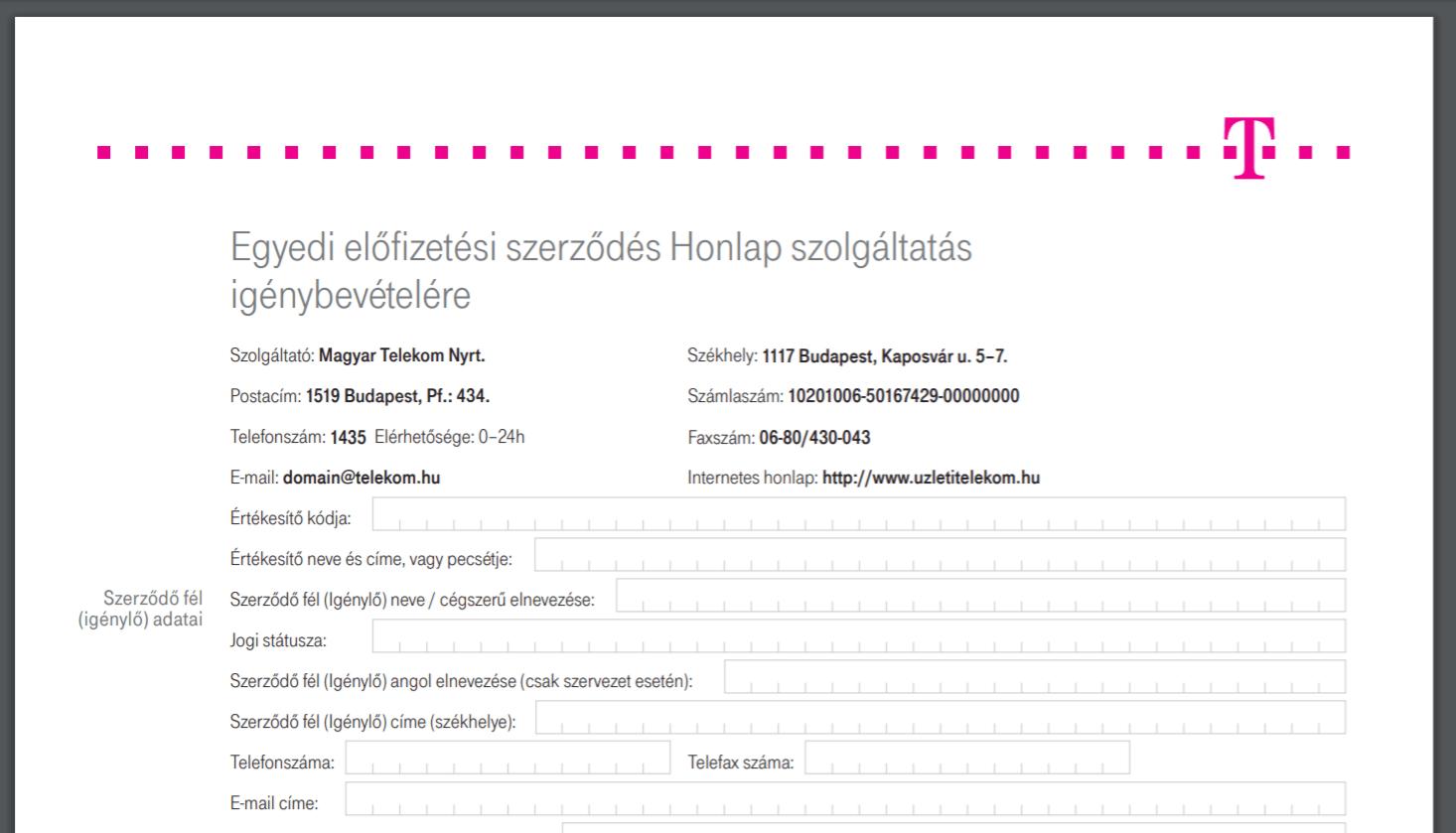 telekom.hu-support
