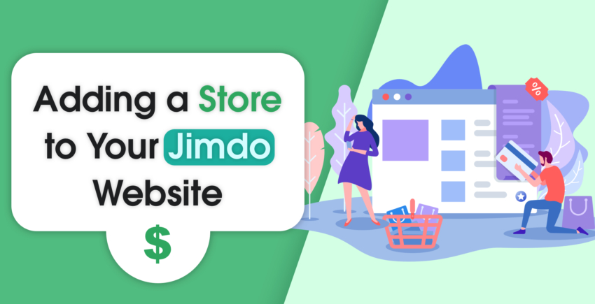 How to Add a Store to Your Jimdo Website