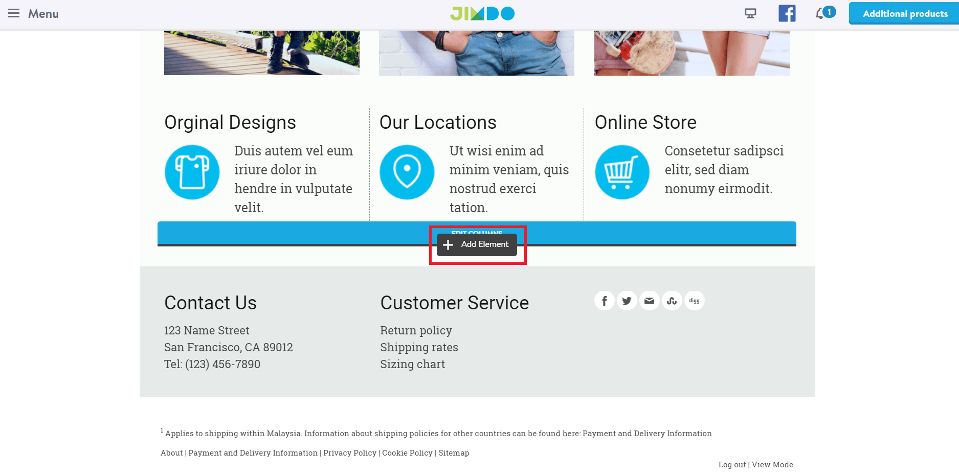 How to Add a Store to Your Jimdo Website-image1