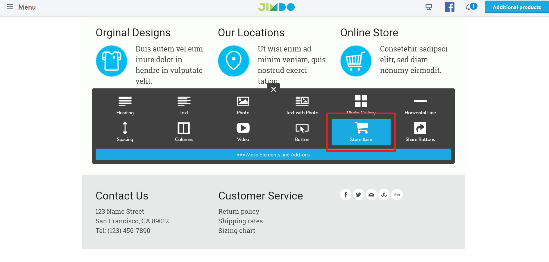 How to Add a Store to Your Jimdo Website-image2
