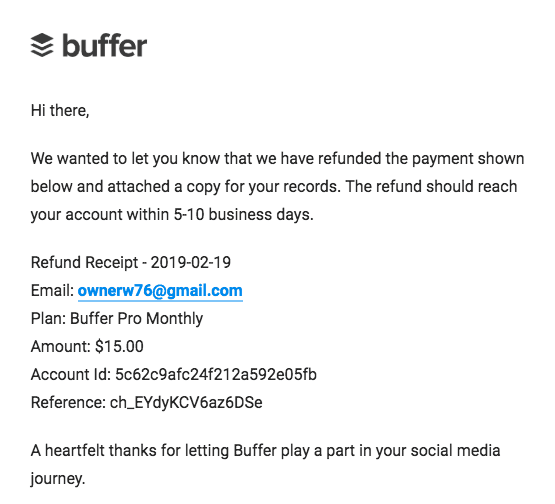 How to Cancel Your Account with Buffer and Get Refunded-image6