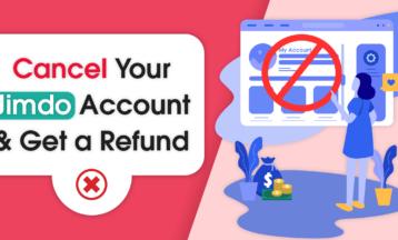 Jimdoでアカウントをキャンセルして返金してもらう方法
