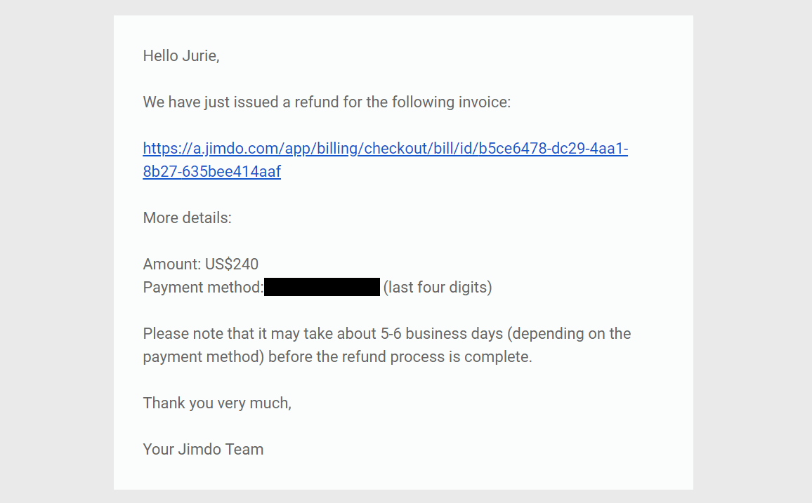 How to Cancel Your Account with Jimdo and Get a Refund-image5