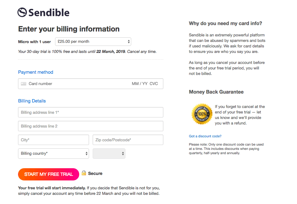 How to Cancel Your Account with Sendible and Get a Refund-image2