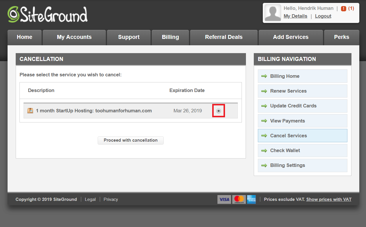 How to Cancel Your Account with SiteGround and Get a Refund-image3
