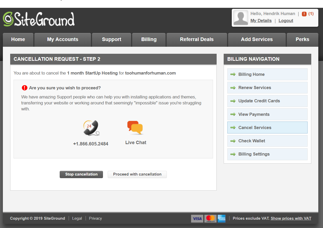 How to Cancel Your Account with SiteGround and Get a Refund-image5