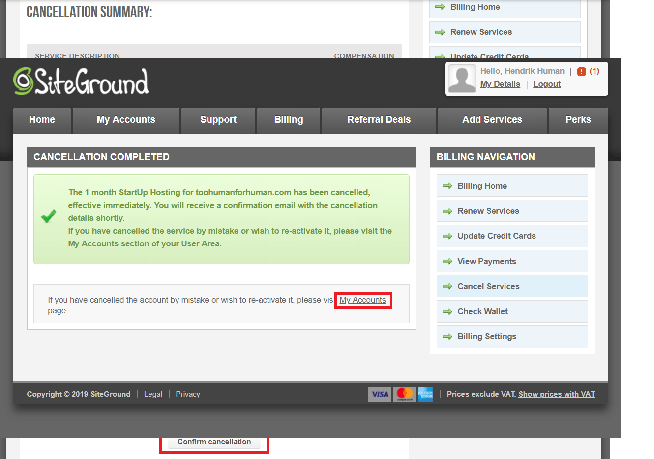 How to Cancel Your Account with SiteGround and Get a Refund-image7