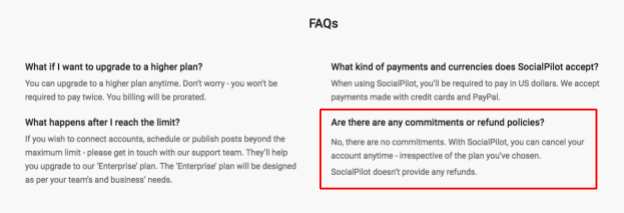 How to Cancel Your Account with SocialPilot and Get a Refund
