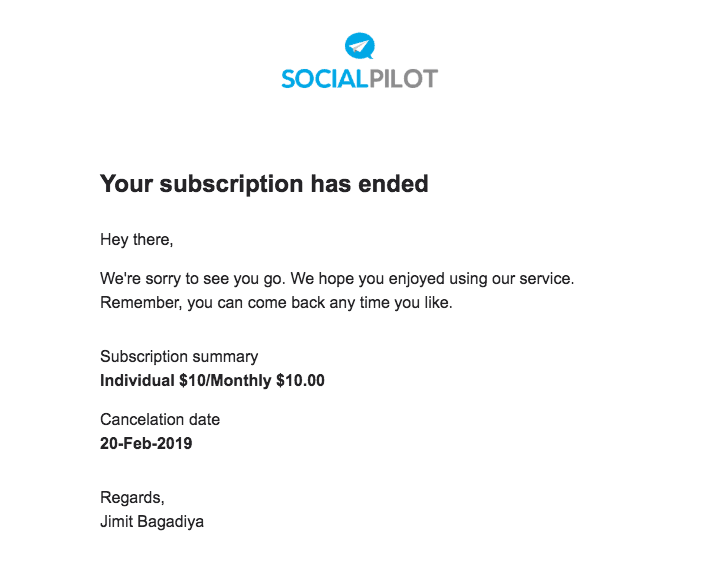 How to Cancel Your Account with SocialPilot and Get a Refund-image5