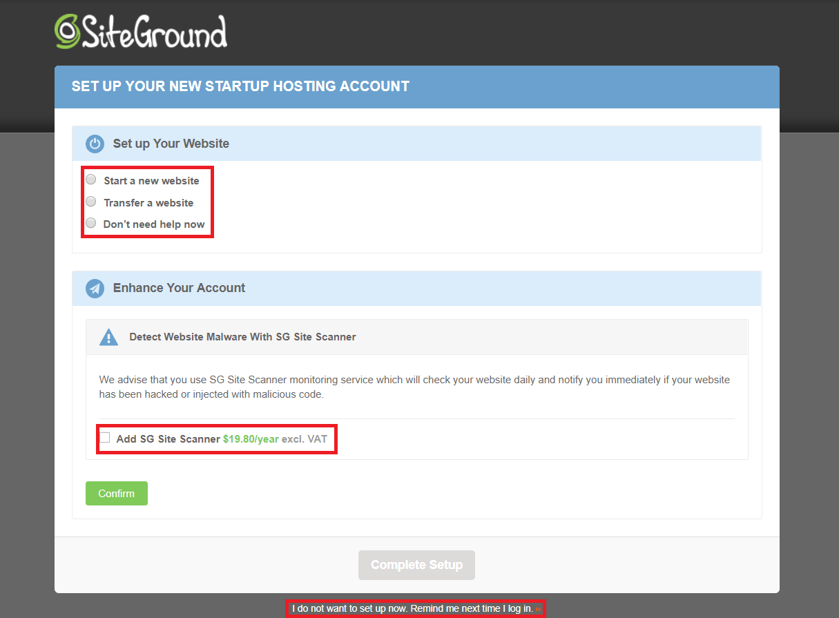 Come Connettere un Dominio ed Installare WordPress su SiteGround